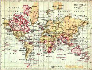 The British Empire in 1897.