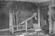 Rice polishing in Japan around 1920