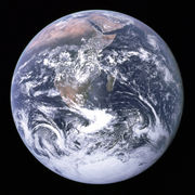 Earth is the largest of the inner planets